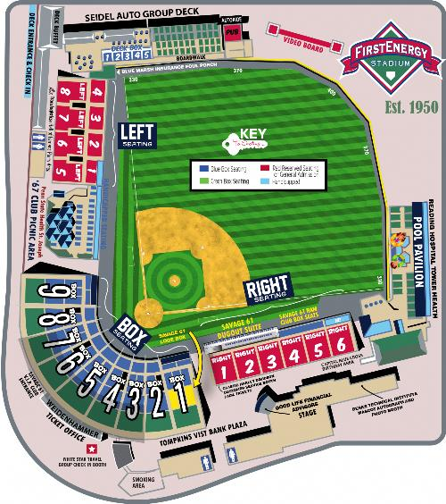 Reading Fightin Phils Vs Hartford Yard Goats On 862019 Tickets